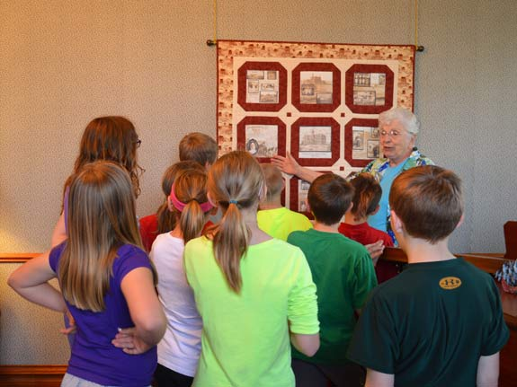 Sister Carolyn Teter talks about the orphanage that the sisters ran for decades in Abilene, Kan.